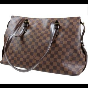 Authentic Louis Vuitton Damier Chelsea Handbag